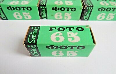 Film Svema Foto 65 type 120 Black & White Lomography, x1 roll, Ussr Expired 1986