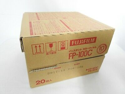 【NEW Expired 11/2017 20 Packs】 FujiFilm Fuji FP-100C Instant Color Film JAPAN