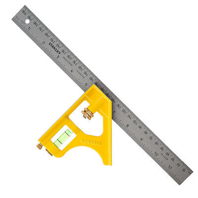 Stanley Die Cast Combination Square 300mm (12in) STA2-46-028