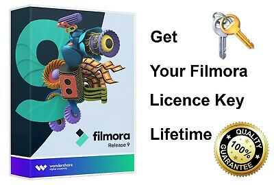 Wondershare Filmora 9 Video Editor 2020 📽️ Full Version Lifetime Licence Key ✔️