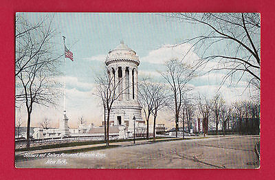 Us New York Soldiers And Sailors Monument Riverside Drive Vintage Pc.3083