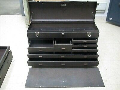 Vintage Kennedy 7  526 Style Drawer Machinists Tool Box Chest 26.5x13.5x8.5""