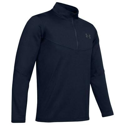 Under Armour Golf Tormenta Midlayer 1/2 Cremallera Camiseta (Academia-Grande)