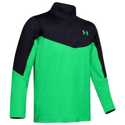 Under Armour Golf Tormenta Midlayer 1/2 Cremallera Camiseta (Negro / Vapor