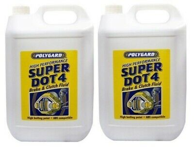 SCT Germany DOT 4 Quality Synthetic Brake /& Clutch Fluid 10Kg 5+5