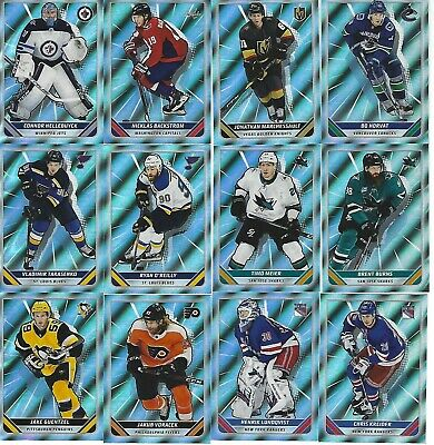 2019-20 19-20 Topps Nhl Stickers Foil 4 For $5,00