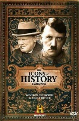 The Icons of History - Winston Churchill DVD Incredible Value and Free Shipping!