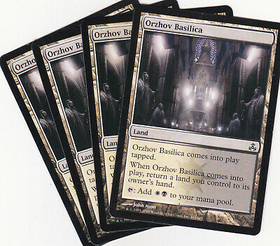Mtg 4x Orzhov Basilica Guildpact Dual Land Deutsch You'll receive email and feed alerts when new items arrive. mtg 4x orzhov basilica guildpact dual