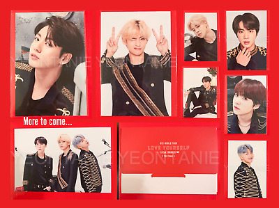 BTS OFFICIAL Speak Yourself The Final Photo Set