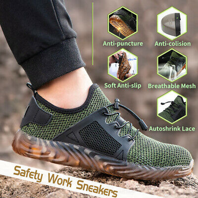 Atrego Men's Indestructible Safety Steel Toe Work Boots