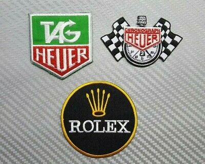 Heuer Tag Heuer gulf patch Iron Sew on Patch Badge