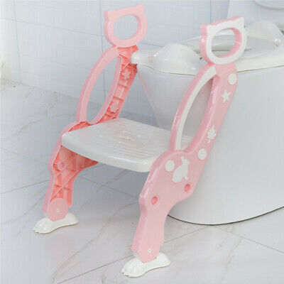 Potty Training Toilet Seat with Step Stool for Kids Toddler?s Potty Ladder Chair