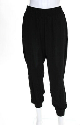 Sanctuary Womens Day Trip Pull On Joggers Pants Black Size Medium 11396785