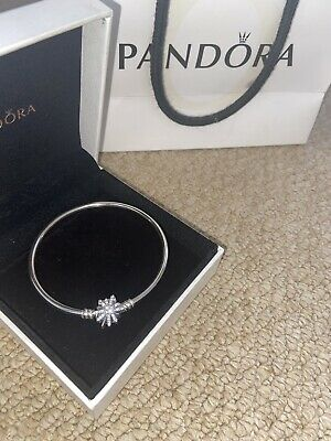 Pandora Charm Bracelet NEW 18cm With Box And Bag