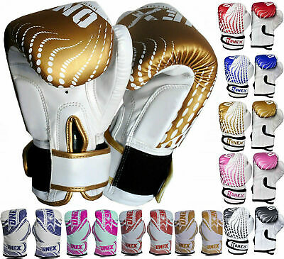 Youth Rex Leather Sparring & Training Punching Gloves Kickboxing And Muay Thai