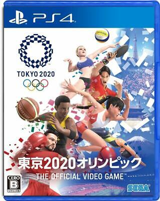 Tokyo 2020 Olympics the official video game ps4 SEGA games