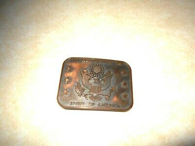 Men Belt Buckle 1776 Bicentennial 1976