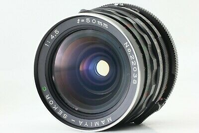 【N MINT】 Mamiya Sekor C 50mm F/4.5 Wide Angle Lens For RB67 Pro S SD From JAPAN