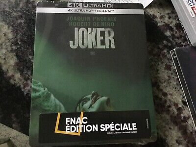 Joker Blu-Ray Steelbook 4K Uhd + Blu-Ray + Bo Fnac Exclusive [France]