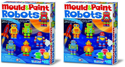 4M Mould And Paint Robots UK POST FREE
