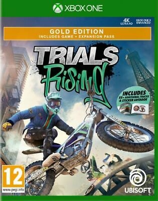 Trials Rising - Gold Edition (Xbox One)  BRAND NEW AND SEALED - QUICK DISPATCH
