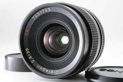 [Near MINT] CONTAX Carl Zeiss Distagon 35mm f/2.8 T* MMJ MF Lens from Japan 199