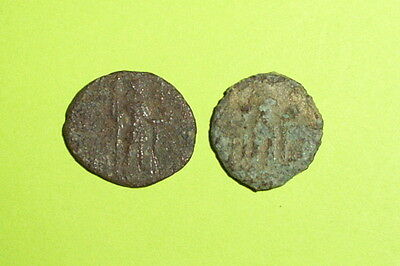 Collection of Constantine ancient ROMAN COINS death 337 AD AETERNA PIETAS old G