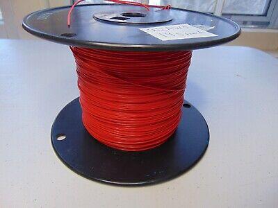 25 feet solid 28 AWG Gore Silver Plated Wire Tight Twisted Pair Black White SPC