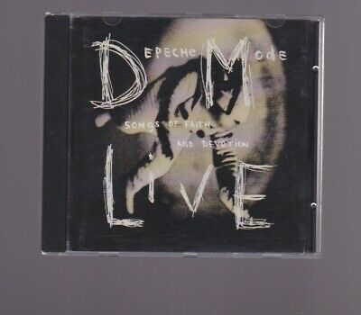 Depeche Mode CD - Songs of faith and devotion live