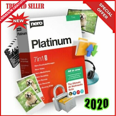Nero Platinum 2020 Suite > Lifetime > Instant dilevery > 30s