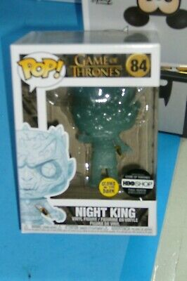 Funko Pop! Game Of Thrones Night King Glow In The Dark #84 Hbo Exclusive!