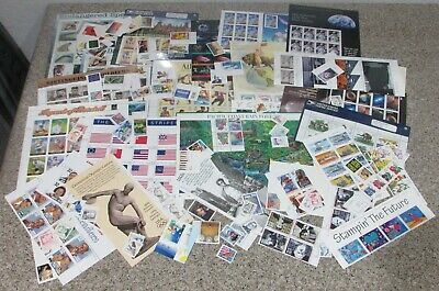 *$US mint NH mostly 32c + up stamps discount postage, face value $110