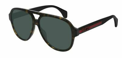 Authentic Gucci GG 0463 S 003 Havana/Black Sunglasses