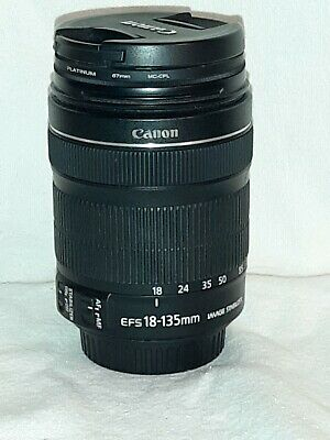 Canon EF-S 18-135mm f/3.5-5.6 IS STM Zoom Lens #C01285