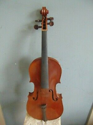 VINTAGE  3/4 SIZE FRENCH VIOLIN with Case & BAUSCH BOW