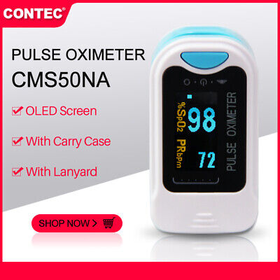 CONTEC CMS50NA OLED Finger Pulse Oximeter Blood Oxygen SPO2 PR Oximetry