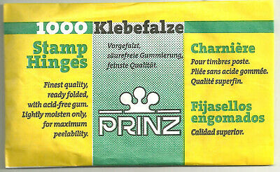 Prinz Stamp Hinges Package Of 1000 Factory Fresh