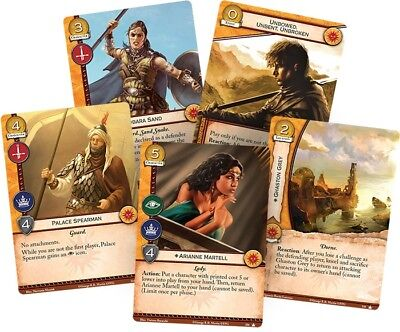 A Game of Thrones LCG *PLOT CORE* x28 Neutral Cards 2nd GoT 2.0 lot