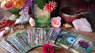 Alchemy Flower 48- Card Oracle Deck : Messages From The Flowers