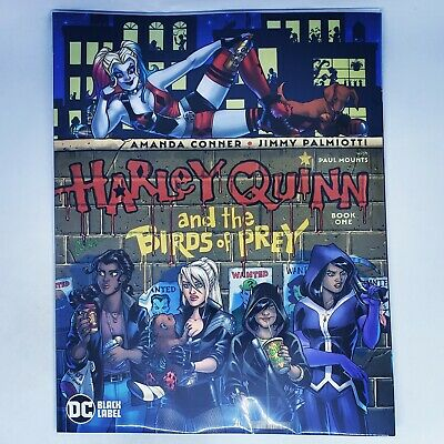 Harley Quinn and The Birds of Prey (2020) DC Black Label - #1, Conner, NM