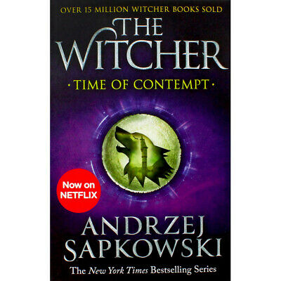 The Witcher - Time of Contempt - Book 2 (Paperback), Fiction Books, Brand New