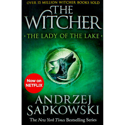 The Witcher - The Lady of the Lake - Book 5 (Paperback), Fiction Books, New