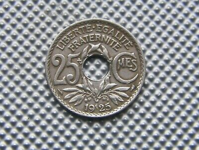 25  centimes 1925 Type Lindauer.