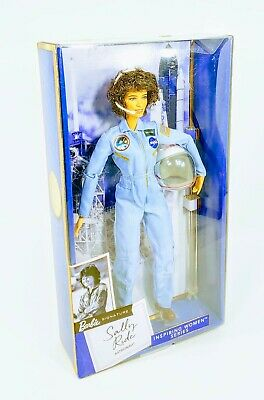 [New] Mattel Barbie Inspiring Women American Astronaut Sally Ride Collector Doll