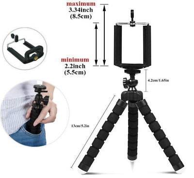 Phone Tripod, UBeesize Portable and Adjustable Camera Stand Holder with...