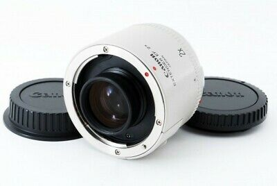Canon Extender EF 2X teleconverter with lens cap From japan USED