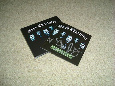 Good Charlotte - Generation Rx - Cd Album + Hand Signed Booklet - Brand New - A