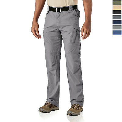 IX9 Men's Quick Drying Tactical Pants Army Combat Commando Cargo Work Trousers