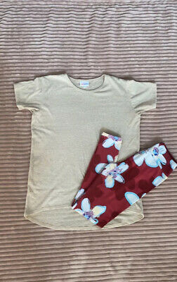 lularoe kids Size 12 Top and Tween Leggings