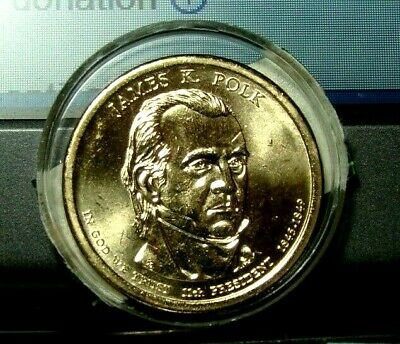 MINT SEALED P31 2009 James Polk $1 PRESIDENTIAL COIN COVER